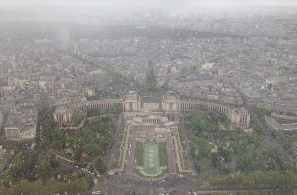 Snijeg u Parizu,  Kali @Kalipointbarre