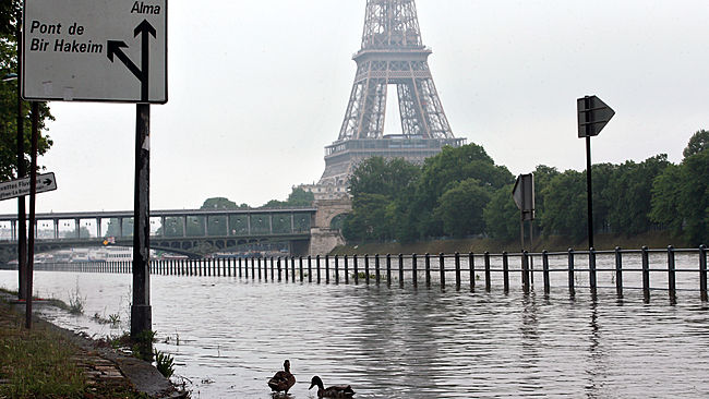 APTOPIX France Floods