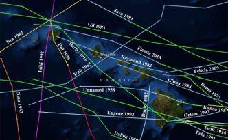 Povijest uragana na Havajima, NOAA/CSC